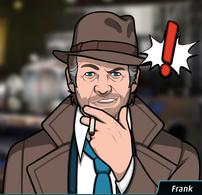 Frank Fumando un cigarrillo