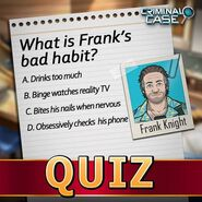 Frank Quiz
