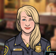 Amy Göz Kırparken