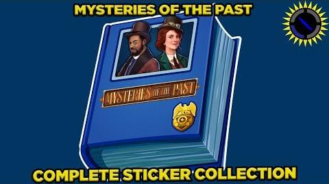 Criminal Case Full Album Stickers for the First 42 Cases of Mysteries of the Past!