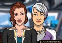Marina y Zara 1