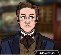 Arthur sonrojado