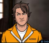 Cody uniforme prisión