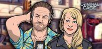 Amy y Frank en una promocion ''Feliz Lunes''