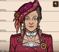 Lady Higmore en Déjala comer pastel