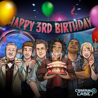Cumpleaños 3 de Criminal Case