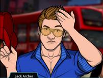 Jack con una gorra