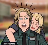 27 Russell Escoltando a Amy Young cuando la Golpearon