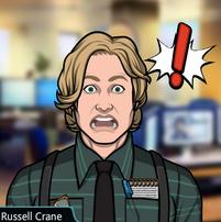 36 Russell Asustado