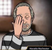 Horatio uniforme prisión