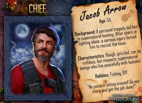Jacob Arrow Profil