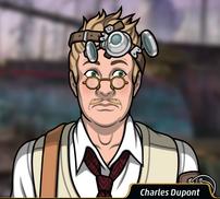 Charles inseguro