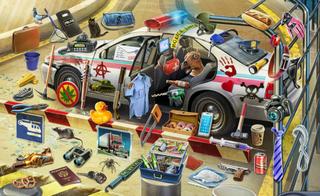Choque del Auto de Policía - Un Asesino Entre Nosotros