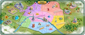 Paris'in Haritası