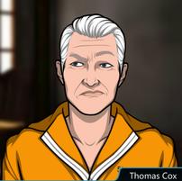 Thomas con uniforme de Prisión