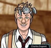 Charles emocionado