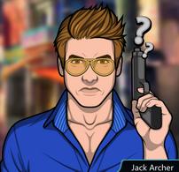 Jack con su pistola serio 1