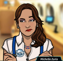 Michelle desconcertada 2