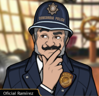 Oficial Ramírez en Tren a la Muerte