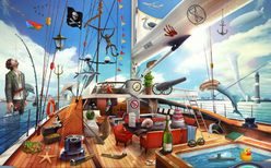 1. Yacht