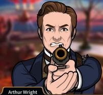 Arthur Apuntando su arma2