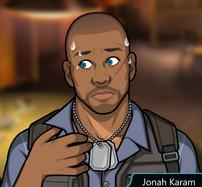 Jonah sudando 2