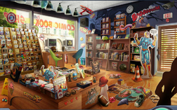 5. Comic Book Shop