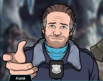 Frank Ofreciendo una mano