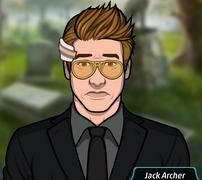 Jack con un esmoquin