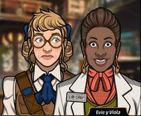 Evie y Viola 2