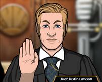 Juez Justin Lawson
