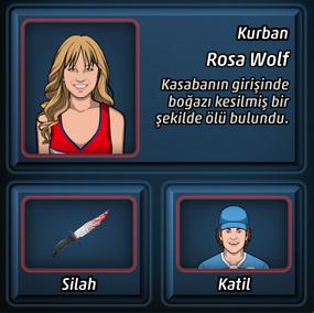 Rosa wolf un olumu