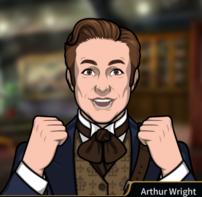 Arthur emocionado