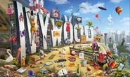 Letrero de Ivywood - La Juventud y Lo Muerto