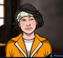 Monica uniforme prisión