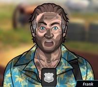 Frank Cubierto de polvo