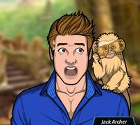 Jack con el mono