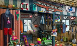 6. Mostrador de la Tienda Revelaciones Mortales