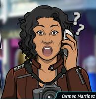 Carmen por Teléfono, Shockeada