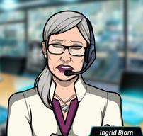 Ingrid estresada