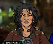 Carmen lesionada