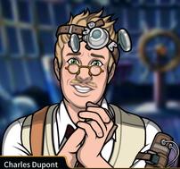 Charles mendigando