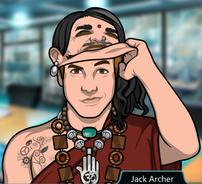 Jack disfrazado de Padmasana