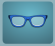 Blue Nerd Glasses