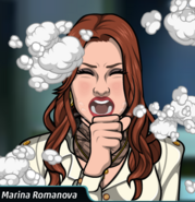 MarinaCoughing