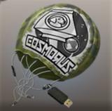Paracaidas con un USB