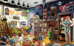 6. Bookshelves