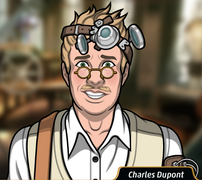 Charles sin usar su corbata1
