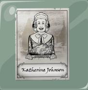 Katherine Johnson, antepasado de Veronica.