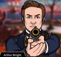 Arthur Apuntando su arma1